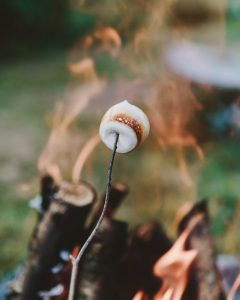 Unplug and roat s'mores!